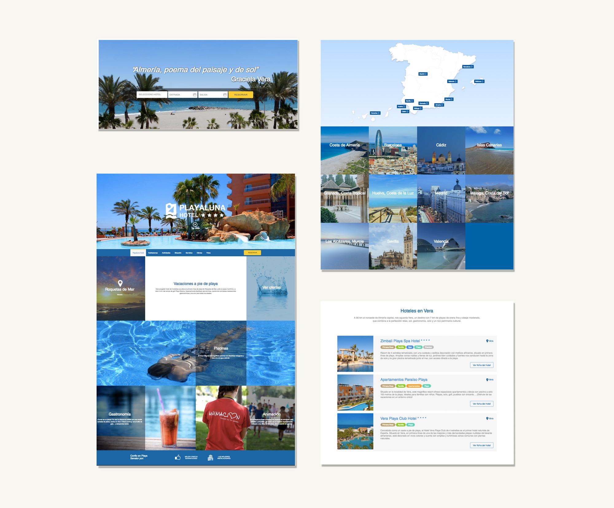 Hotel Senator Website